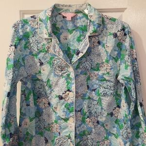 Lilly Pulitzer PJ top
